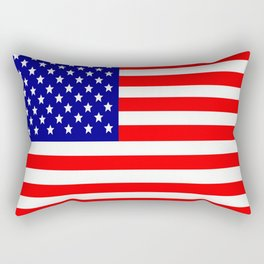 Flag of the USA United States Rectangular Pillow