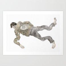 Deflated Art Print