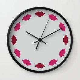 Mwah Wall Clock