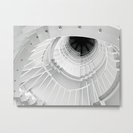 The Winding Staircase Metal Print