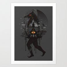 Prisoners Art Print