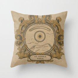 misterio visual 1: ad sidera visus Throw Pillow