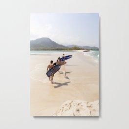 surfEXPLORE Sierra Leone Metal Print