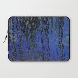 """Claude Monet """"Water Lilies and Weeping Willow Branches"""", 1919 Laptop Sleeve"""