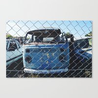 vw Canvas Prints featuring VW. by Jaimie-Lee Smith