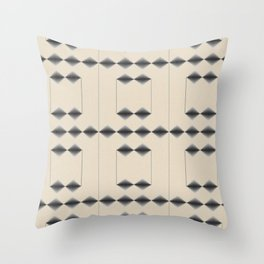 Diamond Stripes Throw Pillow