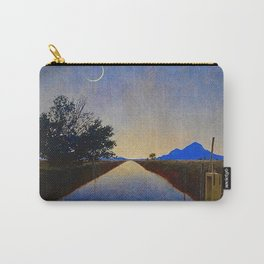 Hot Springs, Yavapai, Arizona landscape painting by Maxfield Parrish Carry-All Pouch