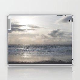 Silver Scene ~ Ocean Ripple Effect Laptop & iPad Skin
