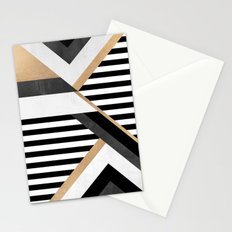 Stripe Combination Stationery Cards