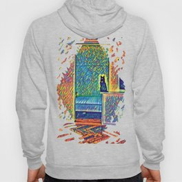 The Cats of Impressionism Hoody