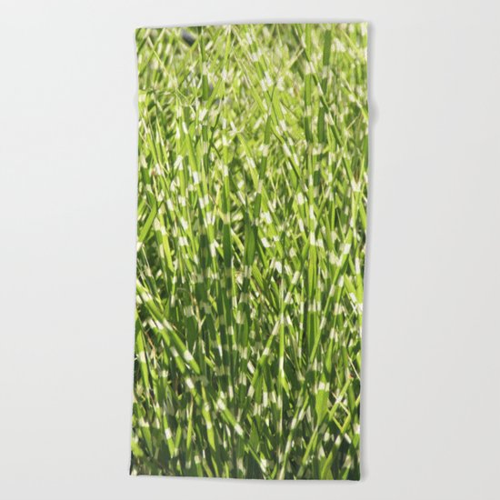 Fresh green Beach Towel