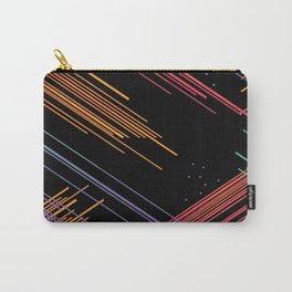 Colored Lines Carry-All Pouch