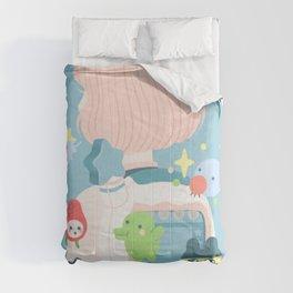 tamagotchi fever Comforters