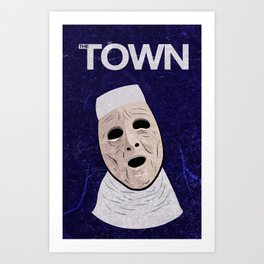 The Town Movie Poster Art Print