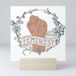Feminist Fist Mini Art Print