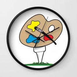 Junior Strokes Wall Clock