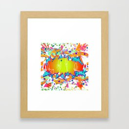 GRAFFITI EXPLOSION Framed Art Print