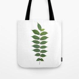 Green Leaf Botanical Print Tote Bag
