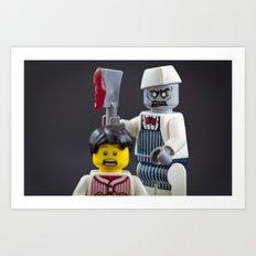 Sal the Butcher Art Print
