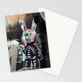 Dead bunny Stationery Cards