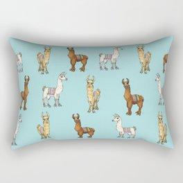 Llama-rama! Rectangular Pillow