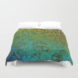 Colorful Corroded Background G292 Duvet Cover