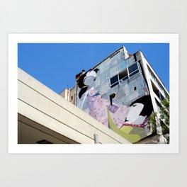 Athens Building Art Print