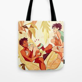 Damen & Laurent summer Tote Bag