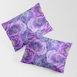 Deep purple roses. Pillow Sham