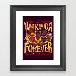 Women of Wakanda Framed Art Print