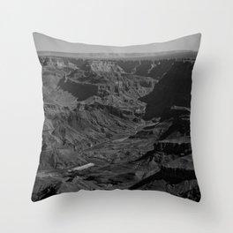 Vast Contrast - 1 Throw Pillow