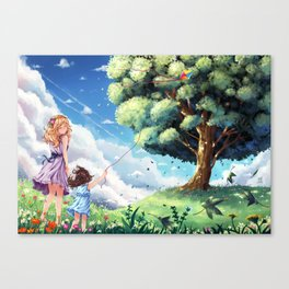 Welcome to Heaven Canvas Print