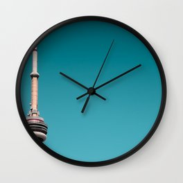 CN Tower top half Wall Clock