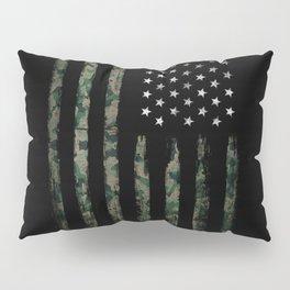 Khaki american flag Pillow Sham