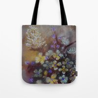 grace Tote Bags featuring Grace by RokinRonda