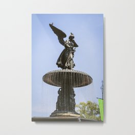 Bethesda Fountain NYC Metal Print