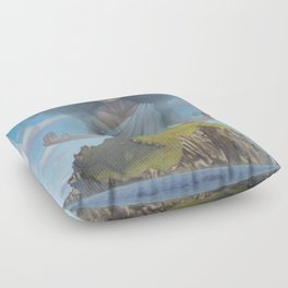 Protected Island Floor Pillow