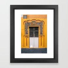 Puerta Puerto Rico Framed Art Print