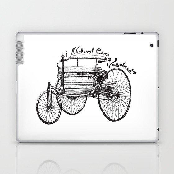 Vintage benz 1885 | Natural Born Vagabond™  Laptop & iPad Skin