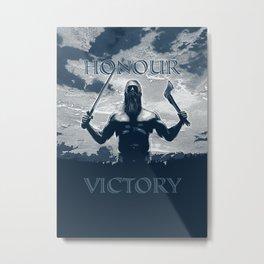 Viking Honour Metal Print