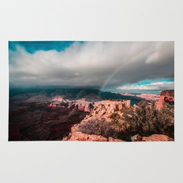 Rainbow over the Canyon Rug