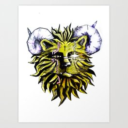 Old King Art Print