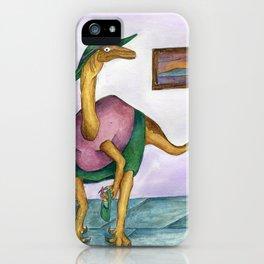 Dressy Dinosaur - Shirley iPhone Case