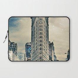 Flatron Building - New York City Laptop Sleeve
