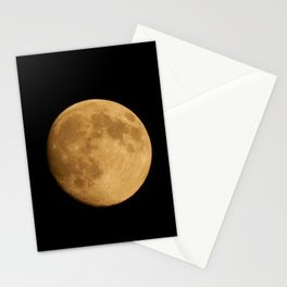 Nearly Full Moon Stationery Cards