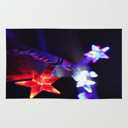 Stars of Fourth of July Rug