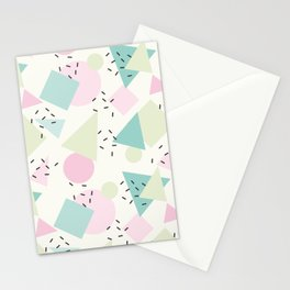 80s / 90s Geometric Pattern Stationery Cards