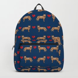 Australian Cattle Dog red heeler hearts love dog breed gifts cattle dogs Backpack