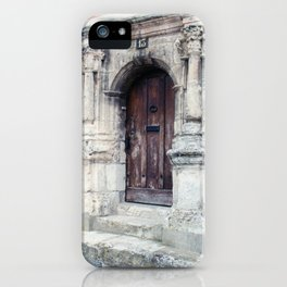 French Door Series, #4 - Châteaudun, France iPhone Case