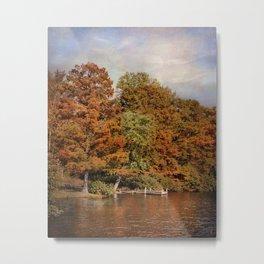 Autumn's Edge Metal Print